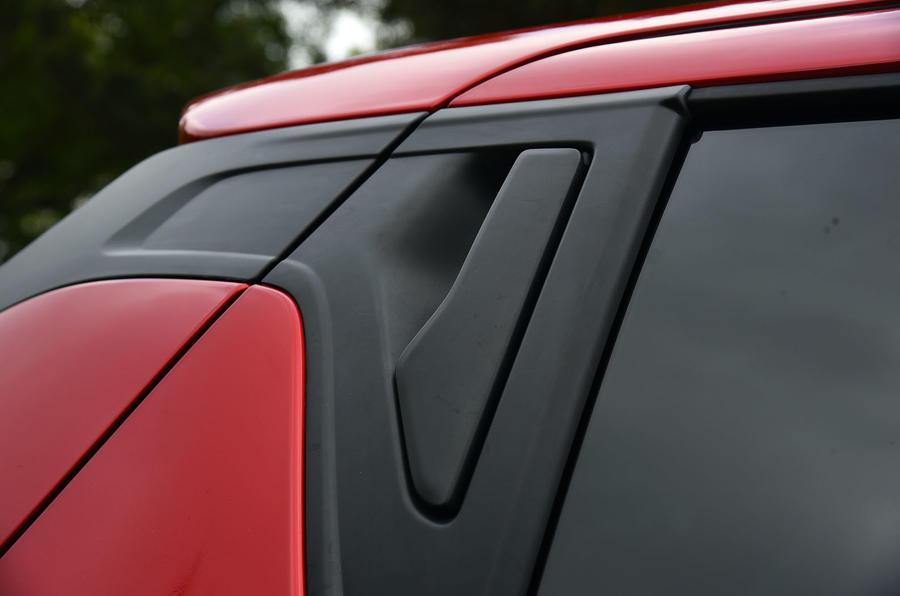 Suzuki Swift rear door handles