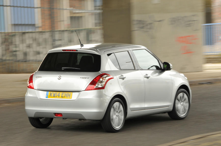 Suzuki Swift rear