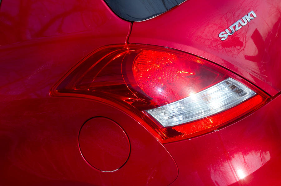 Suzuki Swift Sport rear lights