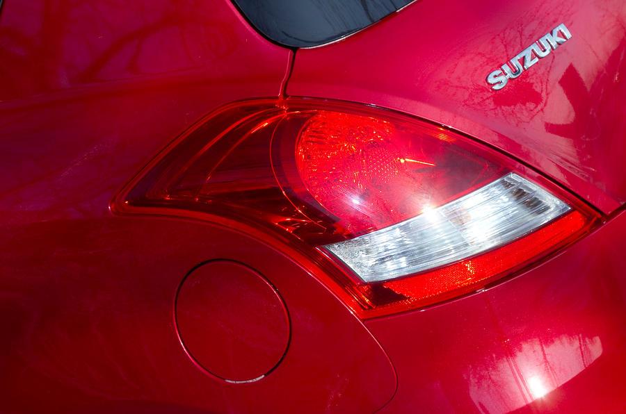 Suzuki Swift Sport rear lights