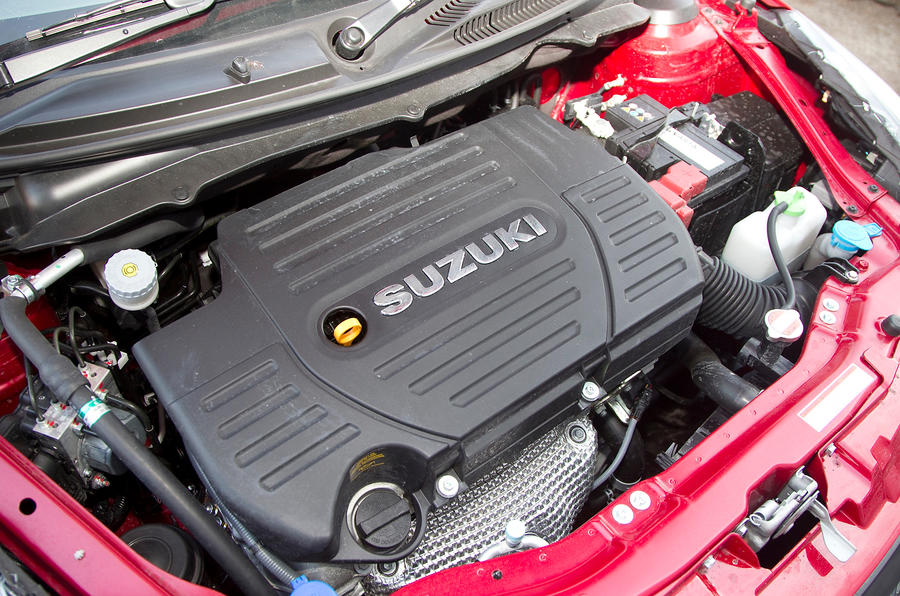 1.6-litre Suzuki Swift Sport engine