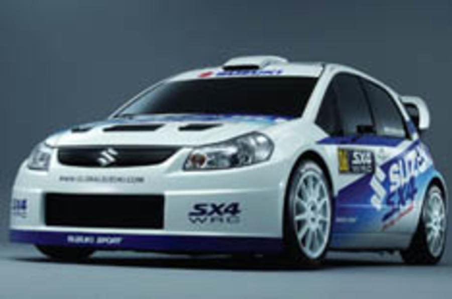 Suzuki lines up SX4 rallying assault