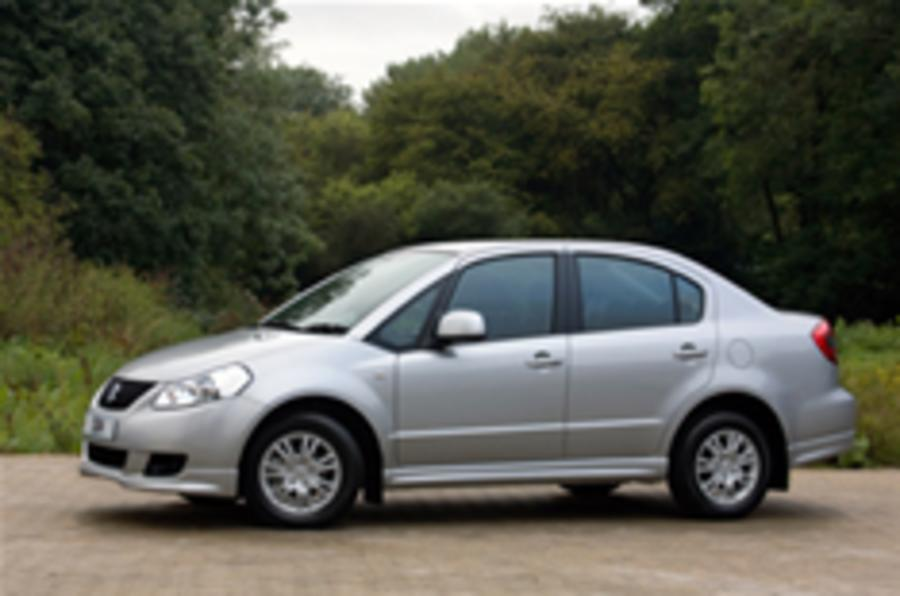 Suzuki SX4 saloon for UK