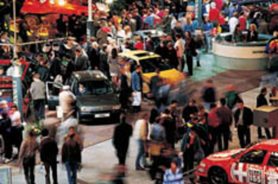 Beat the crowds to the motor show