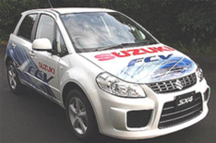 Suzuki readies SX4-FCV