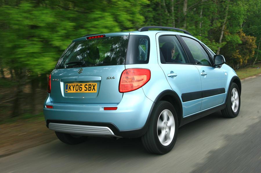 Suzuki sx4 review