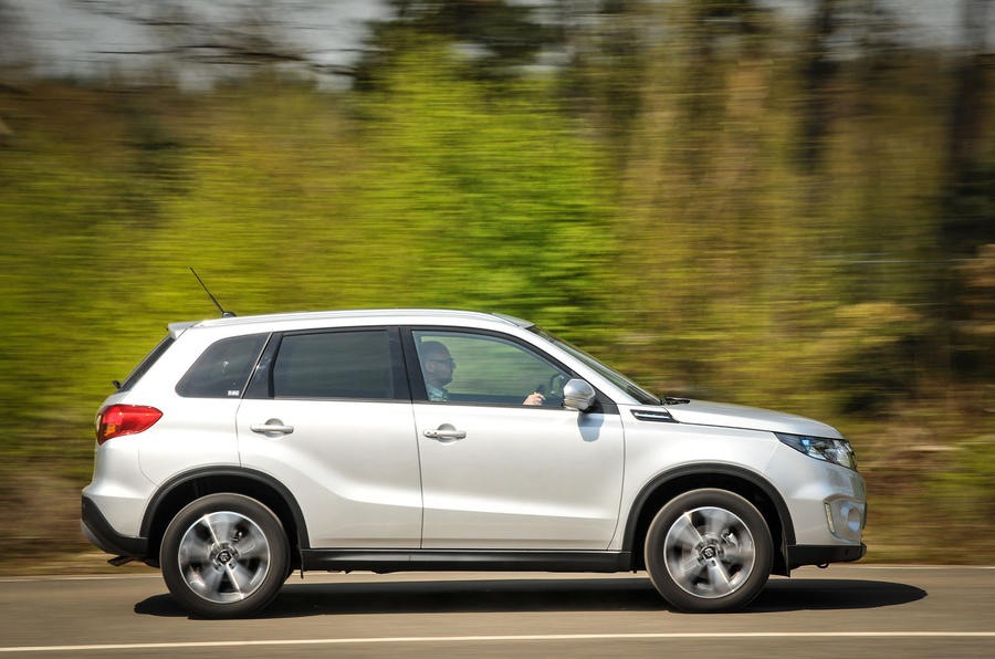 The Suzuki Vitara judges the compromise between handling and comfort well