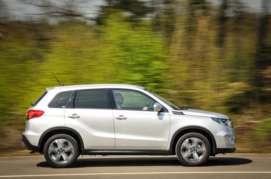 The Suzuki Vitara judges the compromise between handling and comfort well