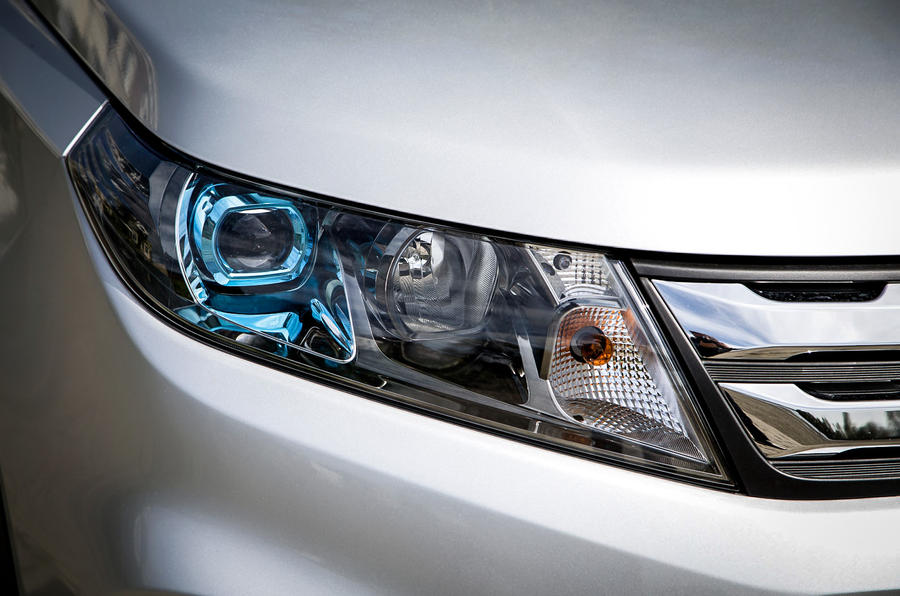 The £18k Suzuki Vitara comes fitted with LED headlights as standard