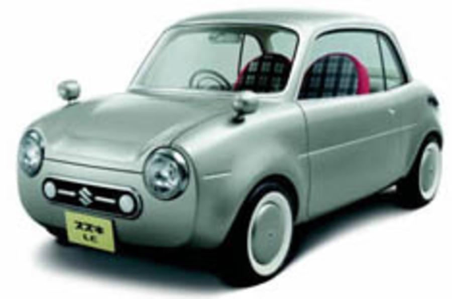 Suzuki's Tokyo show stars