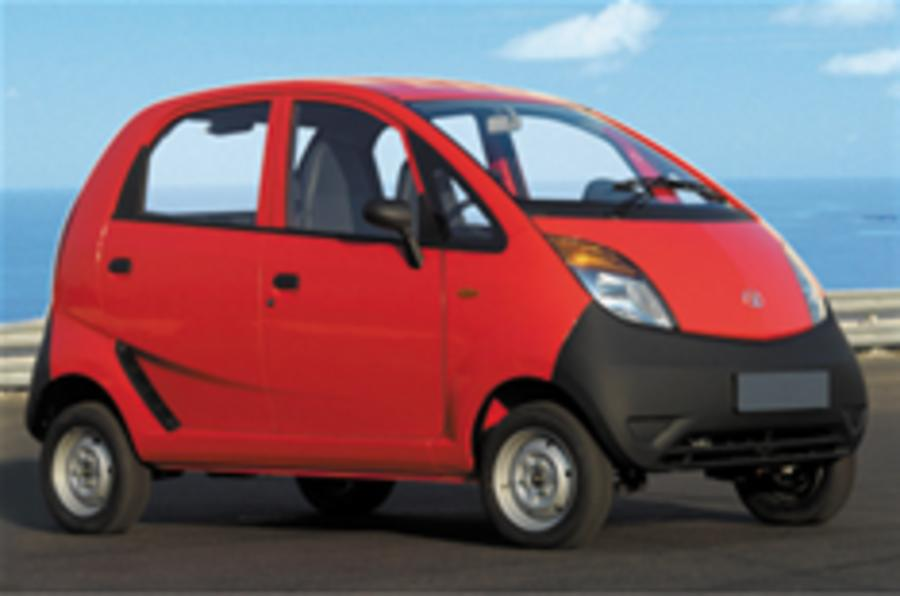 Tata Nano launched in India