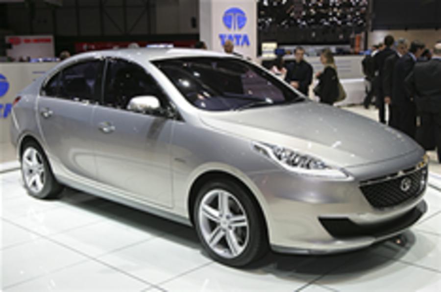 Tata's four-door by Pininfarina