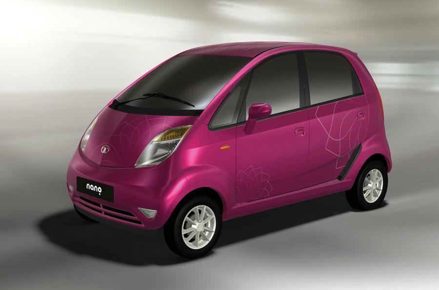 Get Your Tata Nano In Pink Autocar