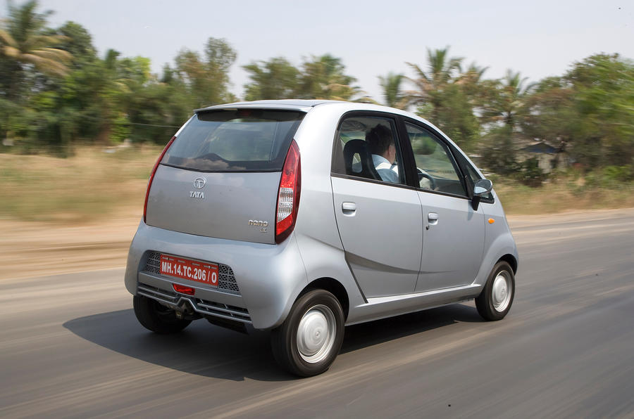 Tata Nano rear quarter