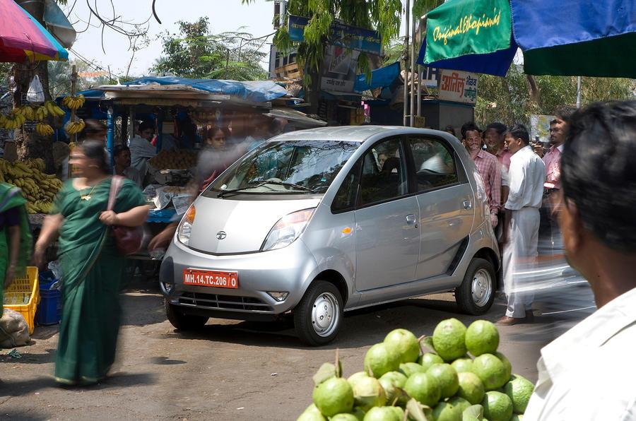 Indian-made Tata Nano