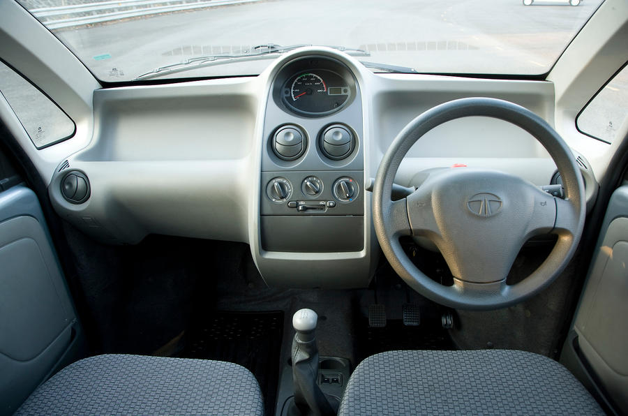 Tata Nano dashboard
