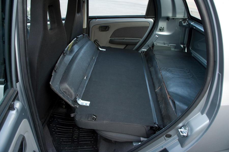 Tata Nano seat flexibility