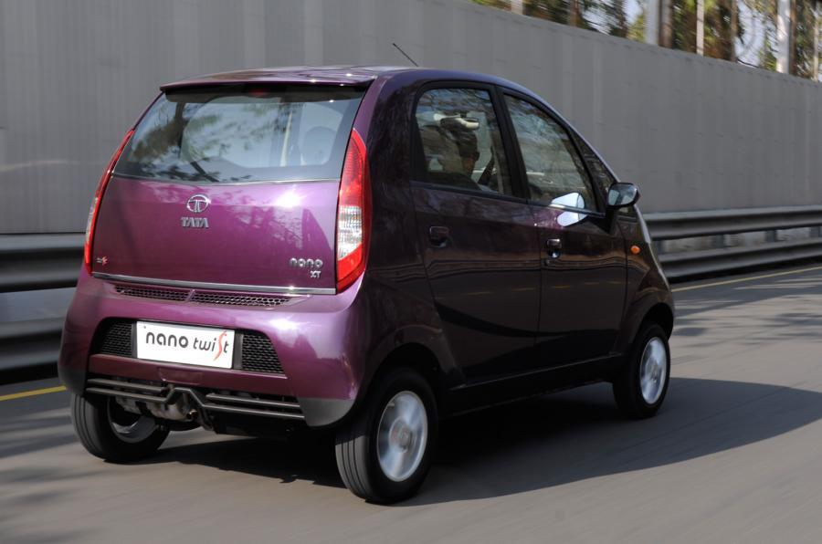 Tata Nano Twist rear quarter