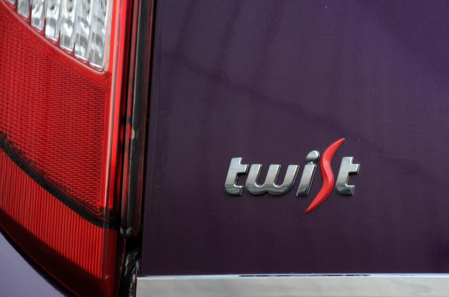 Tata Nano Twist badging