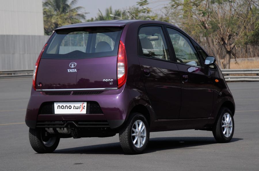 Tata Nano Twist XT rear