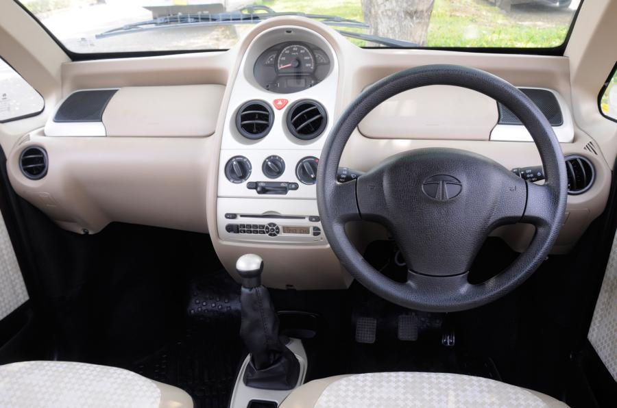 Tata Nano Twist XT dashboard