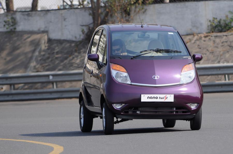Tata Nano Twist XT cornering