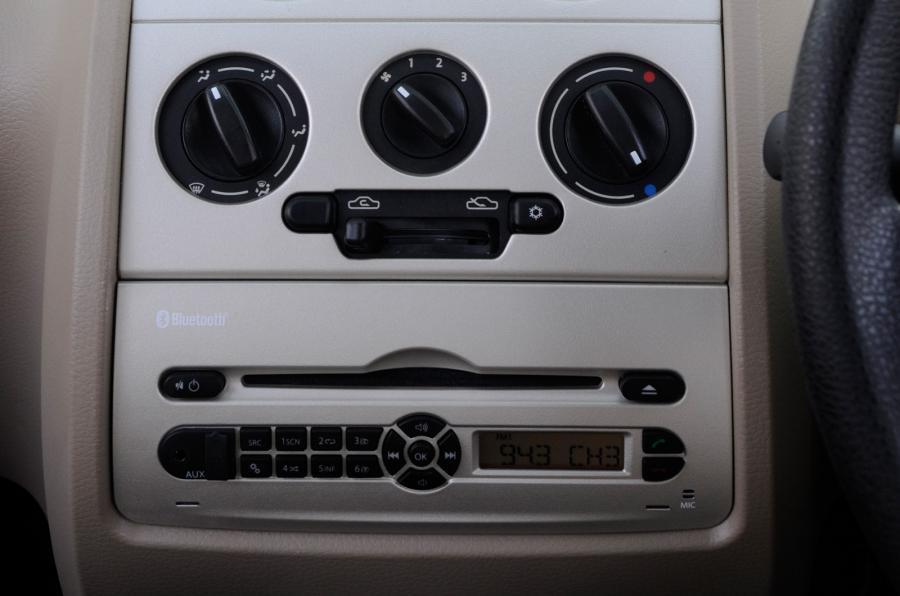 Tata Nano Twist centre console