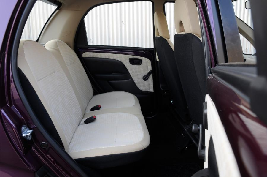 Tata Nano Twist rear seats