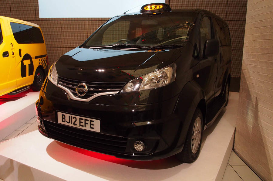 Nissan set to unveil final design for new London taxi