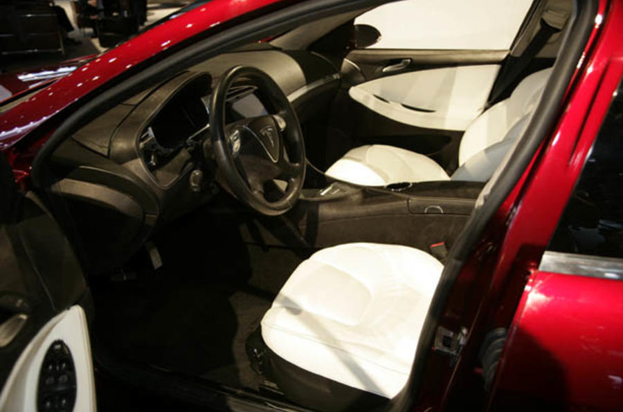 Tesla S set for 2012 launch
