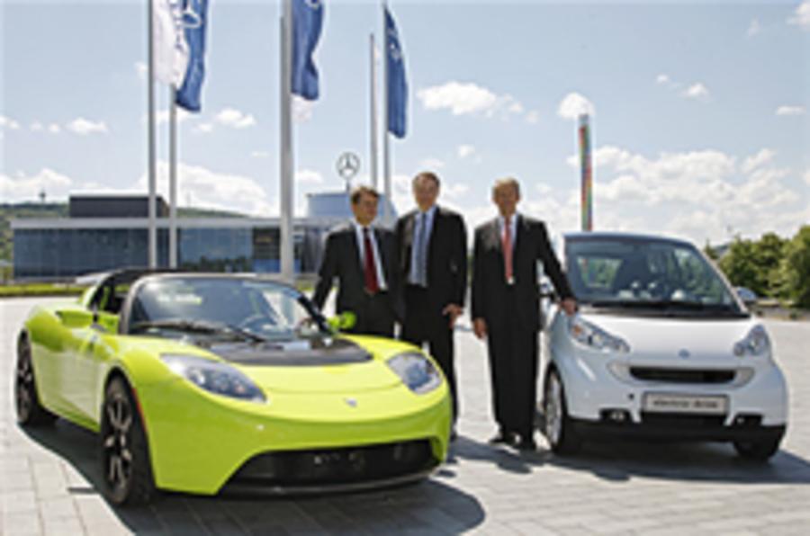 Daimler buys in to Tesla