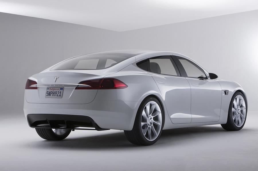 Detroit motor show: Tesla Model S tech