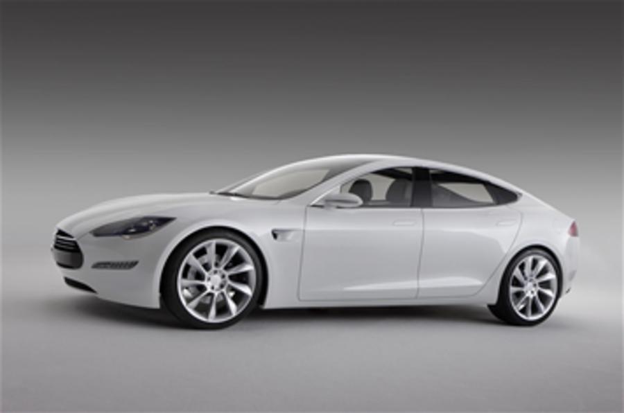 Tesla Model S set for 2012