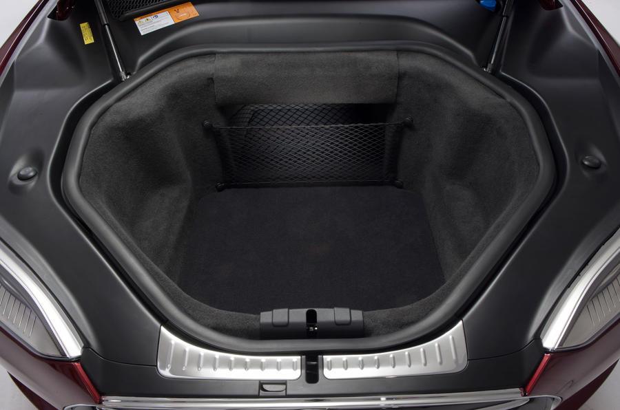 Tesla Model S front boot