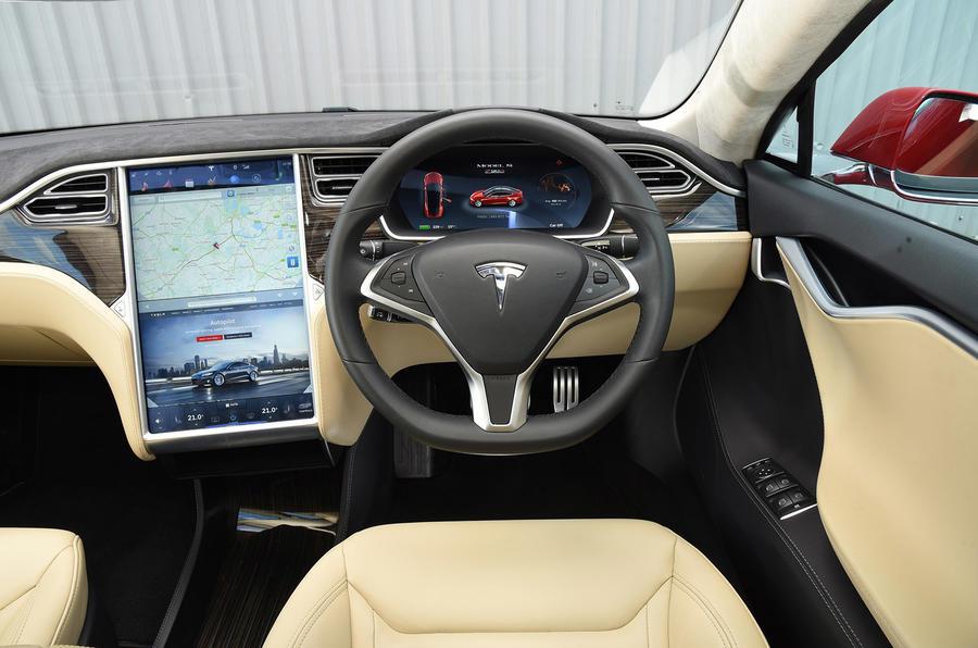 Tesla model s interior 2016