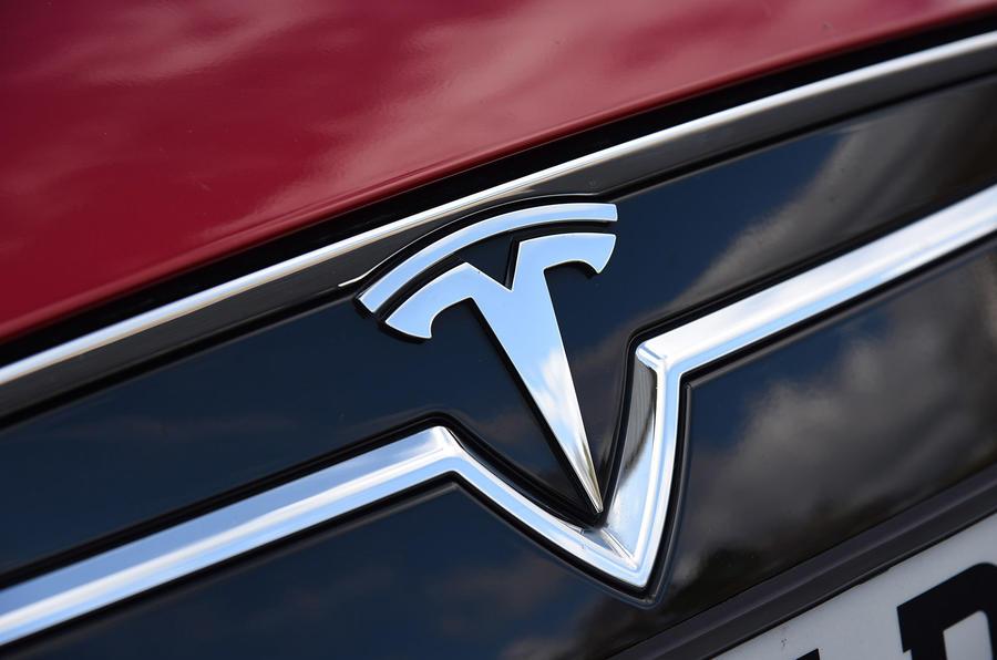 Tesla badging