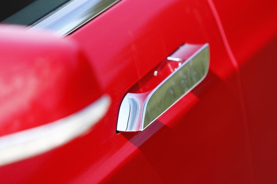 Tesla Model S door handles