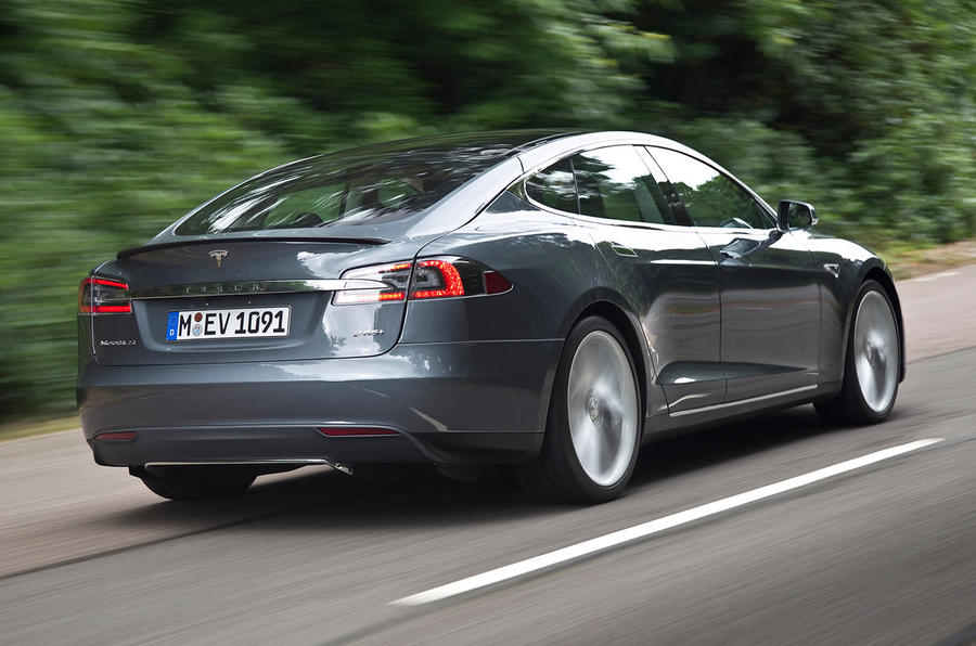 Tesla Model S rear quarter