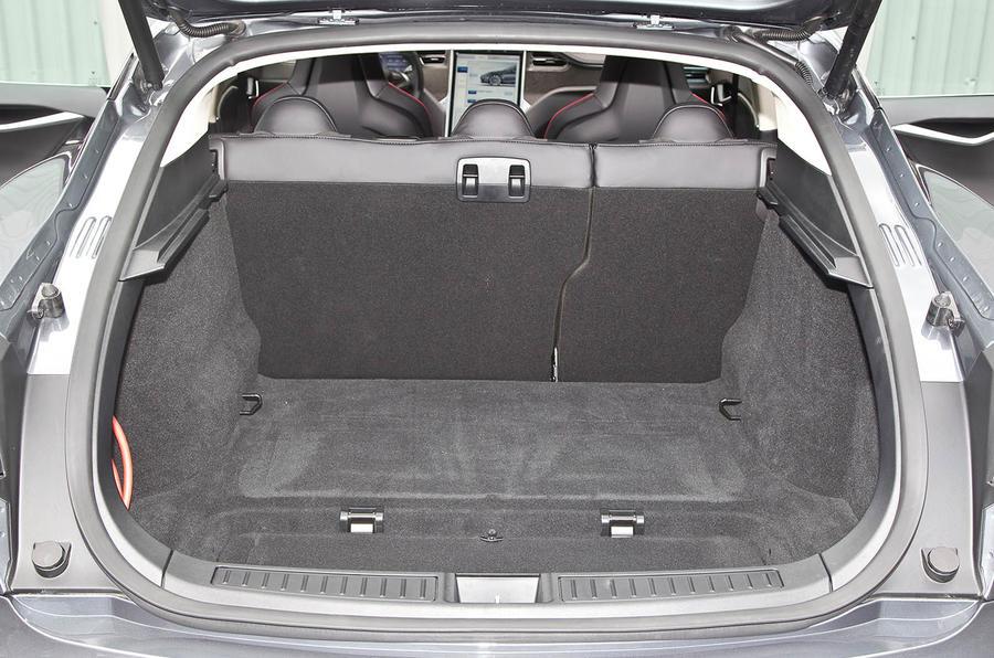 Tesla Model S boot space