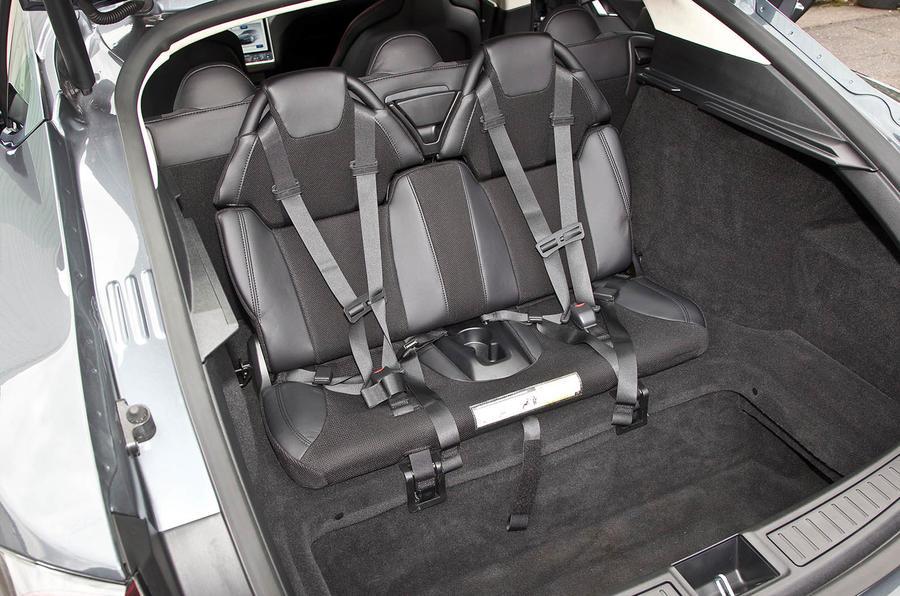 Tesla Model S third row seats