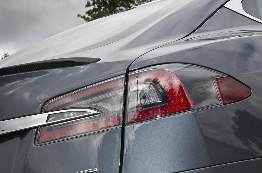 Tesla Model S rear lights