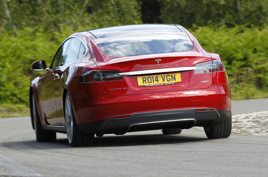 Tesla Model S UK first drive review