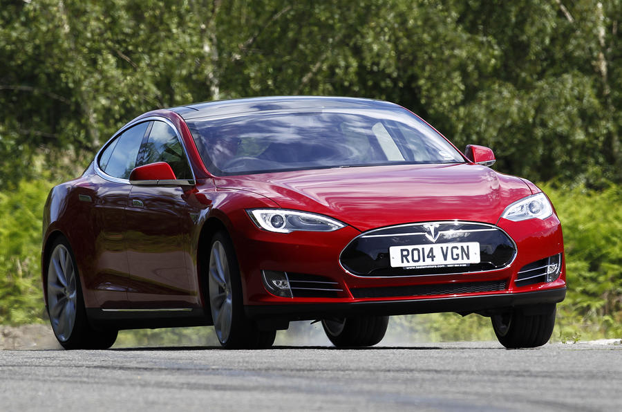 Tesla Model S Uk First Drive