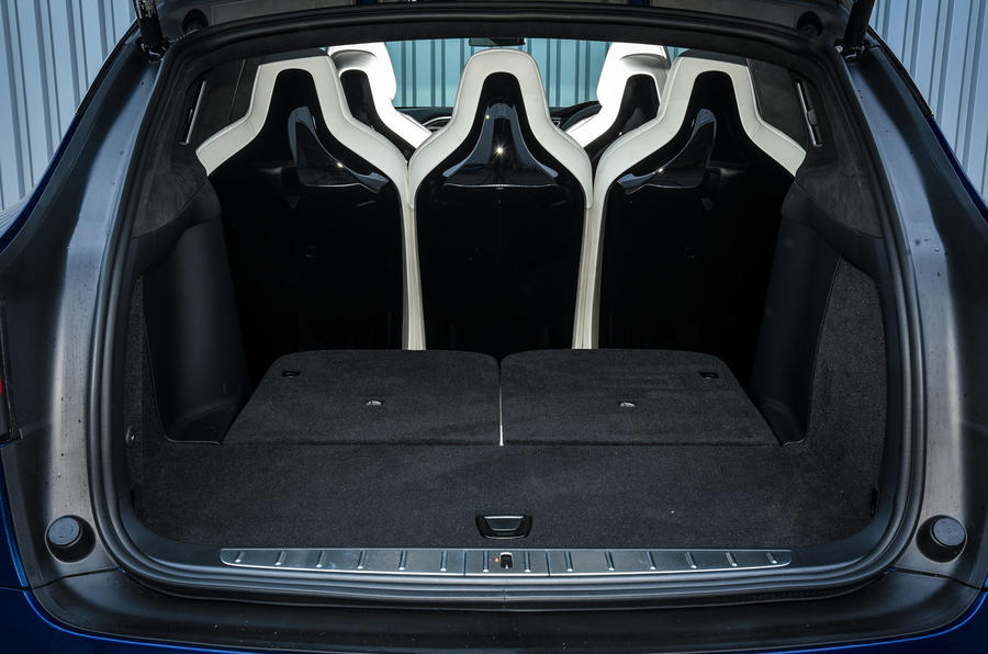 Tesla Model X boot space