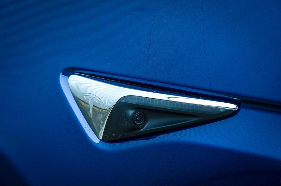 Tesla Model X camera system