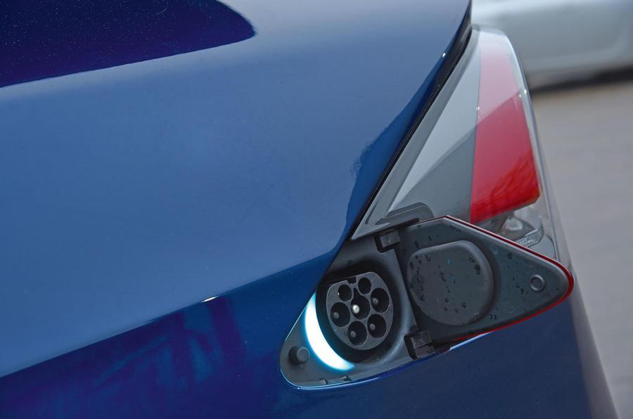 Tesla Model X charging port