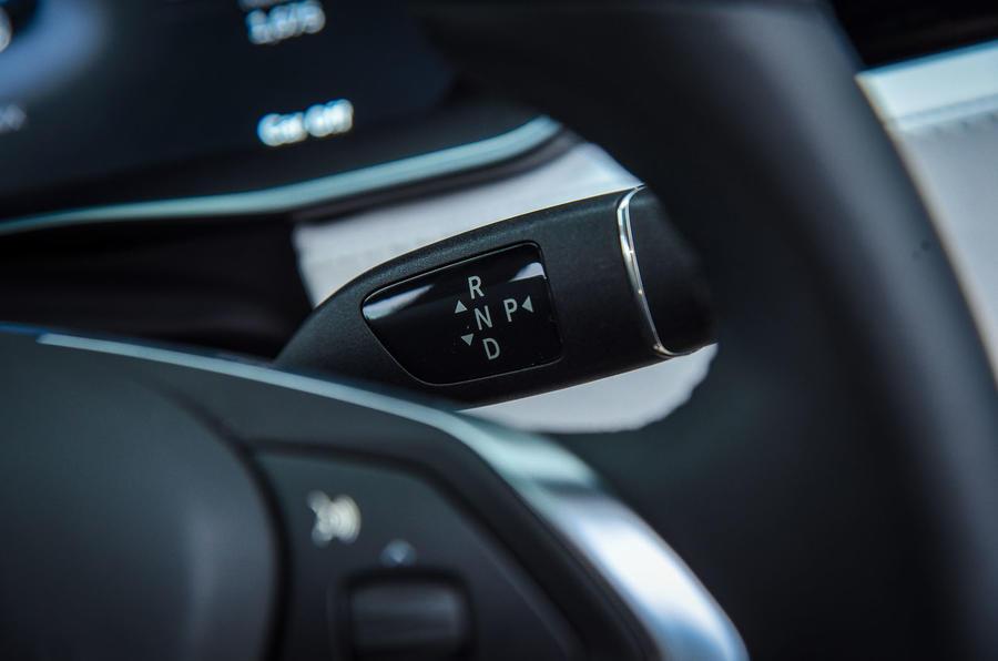 Tesla Model X gear selector