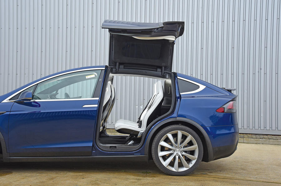Tesla Model X rear access