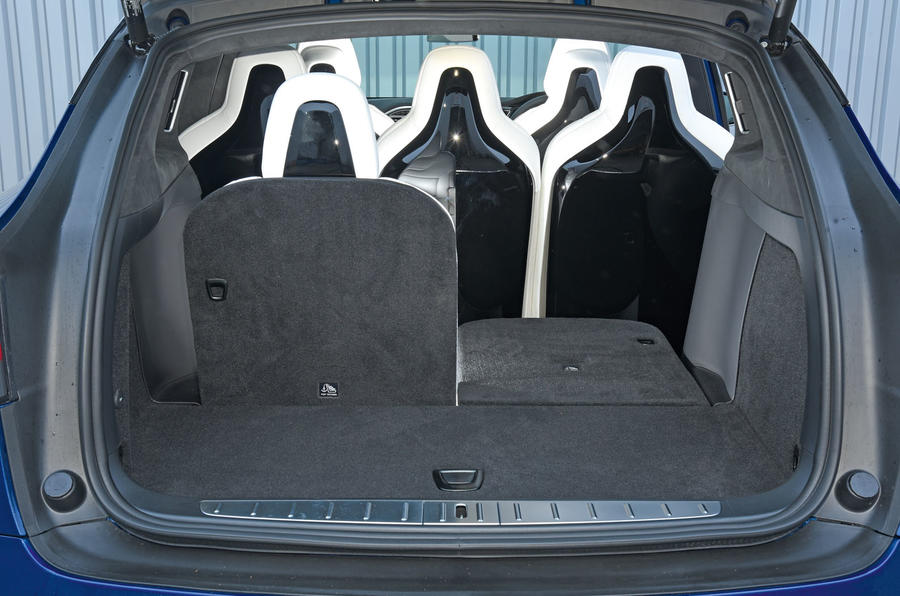 Tesla Model X seating flexibility