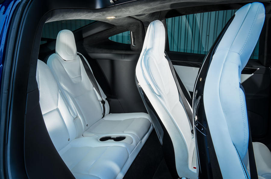 Tesla Model X third row seats